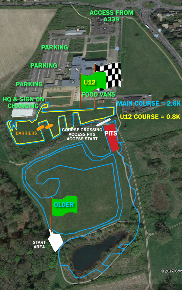 nrc wessex league course 2017